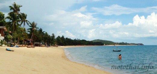 Пляж Мэнам Maenam на Самуи Тайланд