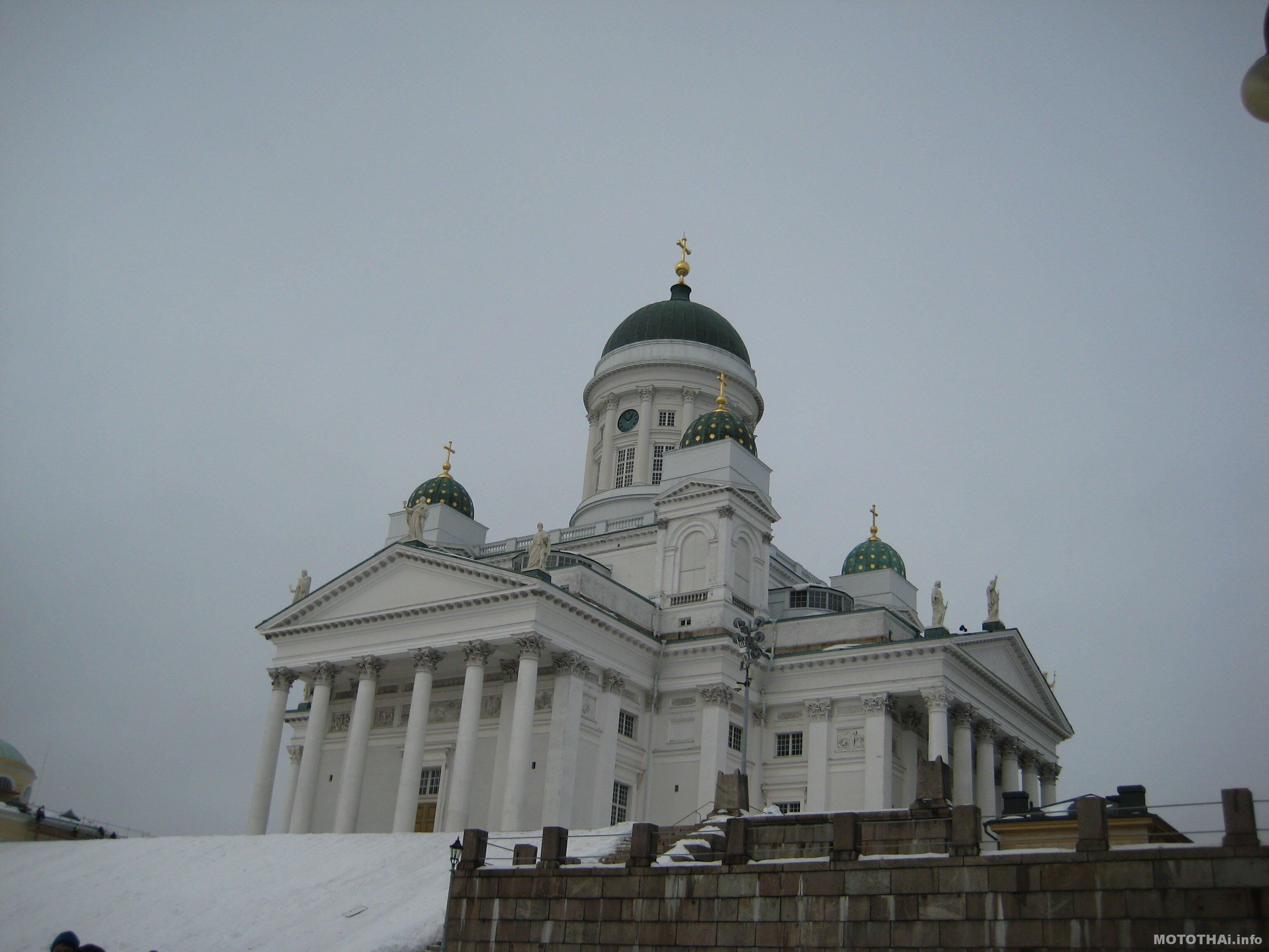 Храм в Хельсинки