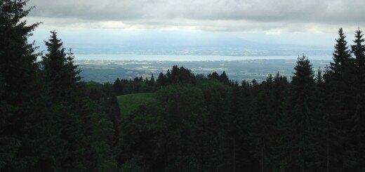 Альпы и Женевское озеро