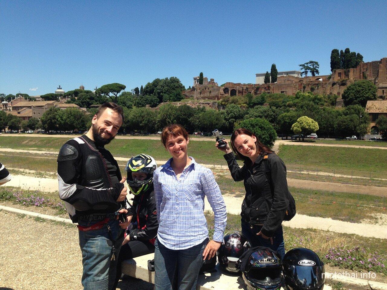 Экскурсии по Риму на мотоцикле