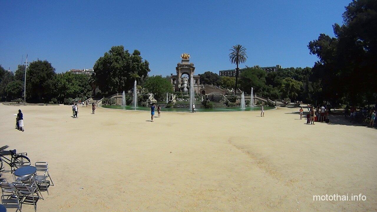 Парк Цитадели Барселона