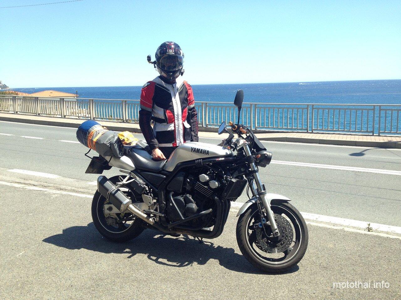 На мотоцикле в Ницце